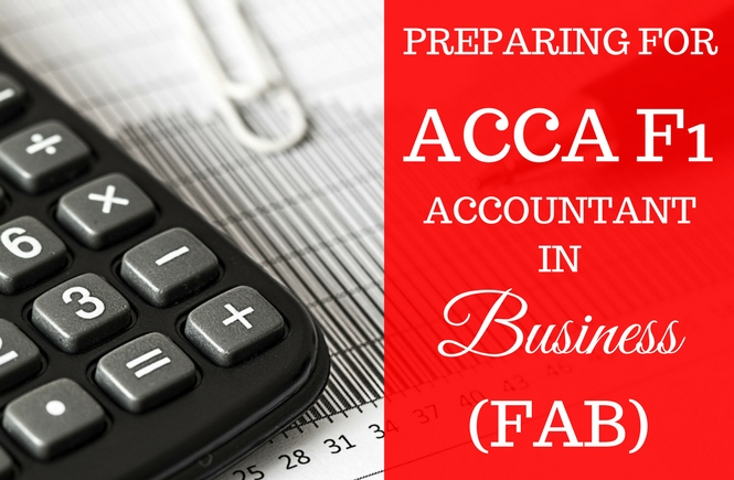 Preparing for ACCA Accountant in Business | Accounks