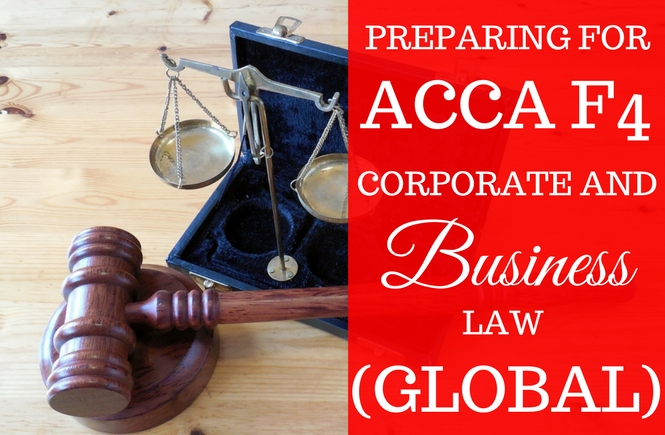 ACCA F4 Corporate and Business Law - June 2016 | Accoounks