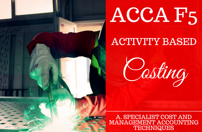 A1- Activity Based Costing