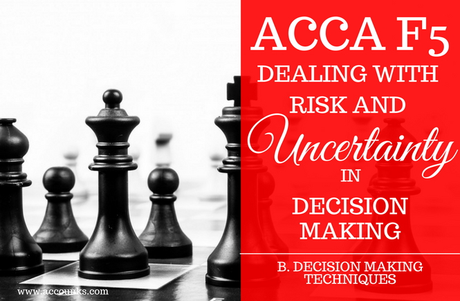 B6- Dealing With Risk and Uncertainty in Decision Making