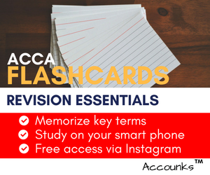 ACCA FlashCards
