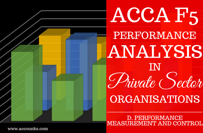 D4- Performance Analysis in Private Sector Organisations